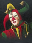 klassiek portret clown Marcel Hoppenbrouwers